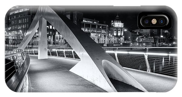 Tradeston Footbridge IPhone Case