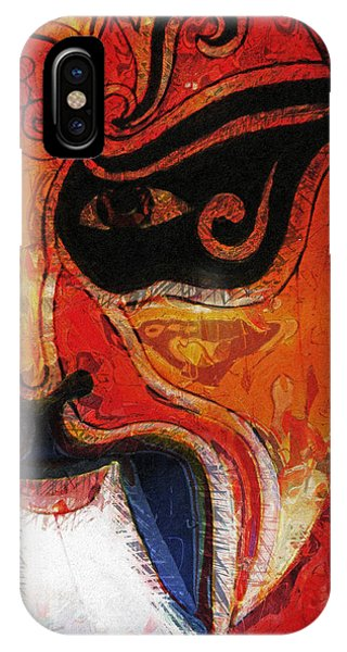 Traditional Chinese Opera Mask IPhone Case