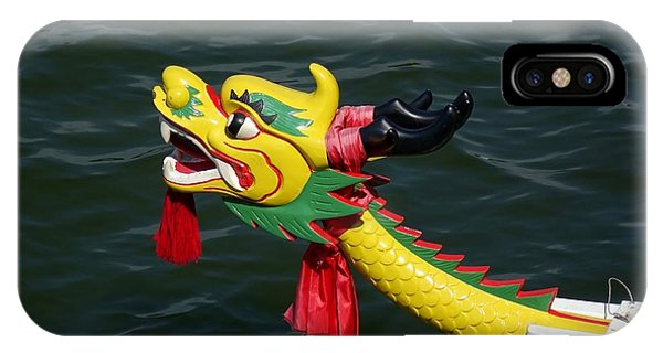 Traditional Dragon Boat Decoration In Taiwan IPhone Case