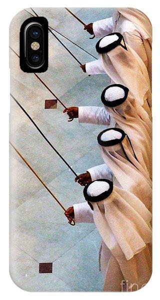 Traditional Emirati Men's Dance  IPhone Case