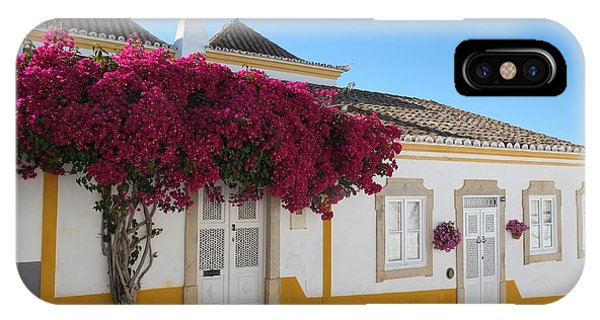 Traditional House Of Tavira. Portugal IPhone Case