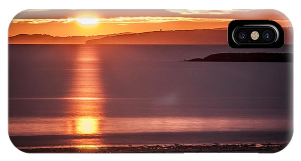 Traeth Bychan At Sunrise IPhone Case