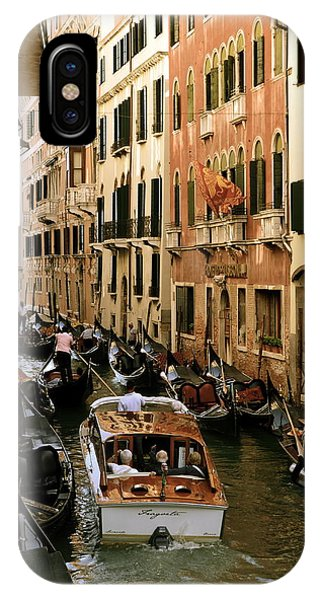 Traffic In Venice IPhone Case