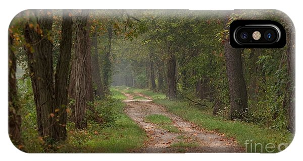 Trail Along The Canal IPhone Case