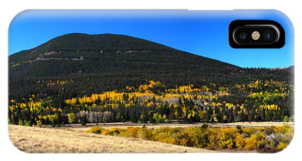 Trail Ridge Road - Panorama IPhone Case