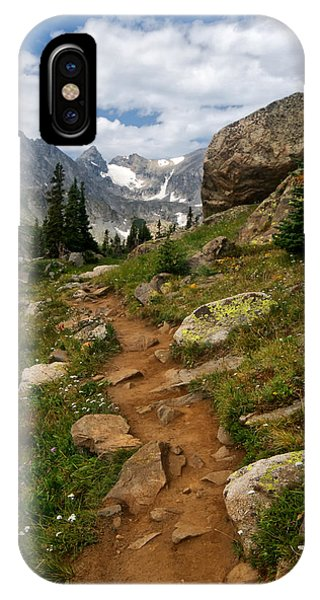 Indian Peaks Wilderness iPhone Case - Trail To Lake Isabelle by Ronda Kimbrow
