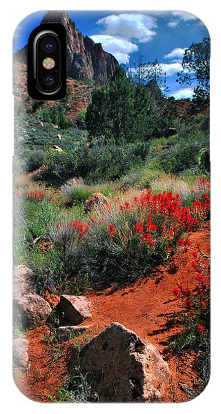 Trail To The Watchman IPhone Case