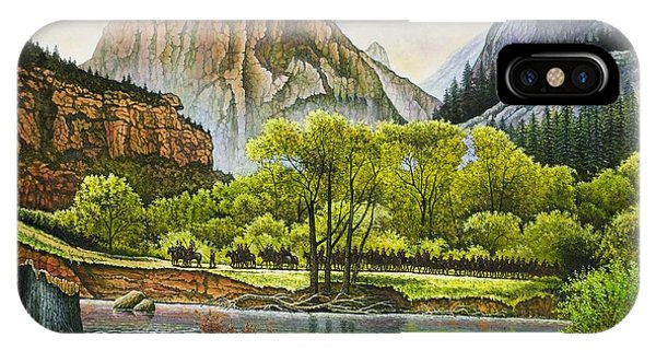 Trails West IPhone Case