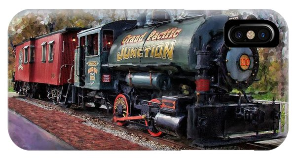 Train At Olmsted Falls - 1 IPhone Case
