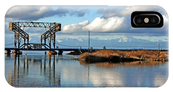 Train Bridge IPhone Case