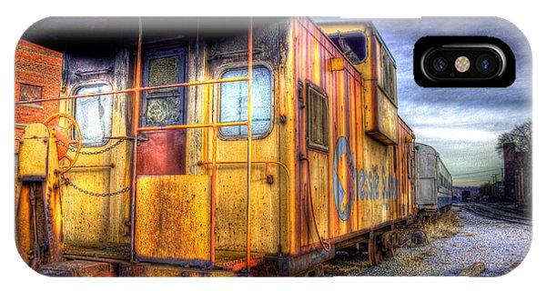 Train Caboose IPhone Case