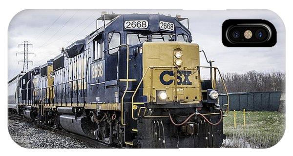 Train Engine 2668 IPhone Case