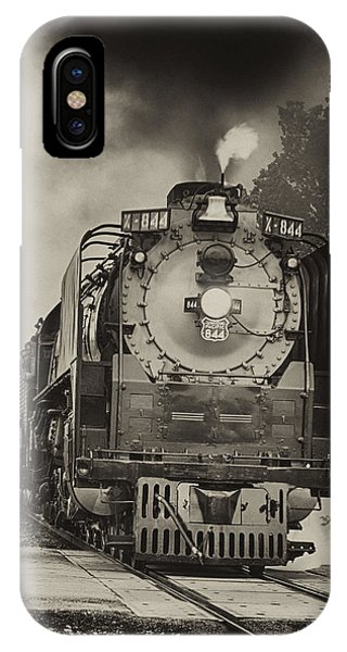 Train Engine Close Pass IPhone Case