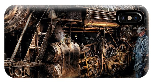 Train - Engine -  Now Boarding IPhone Case