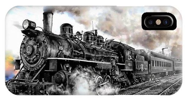 Train I IPhone Case