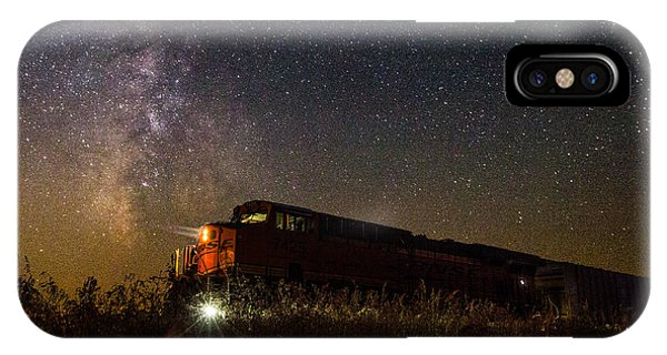 Train To The Cosmos IPhone Case