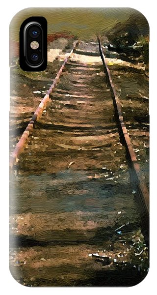 Train Track To Hell IPhone Case