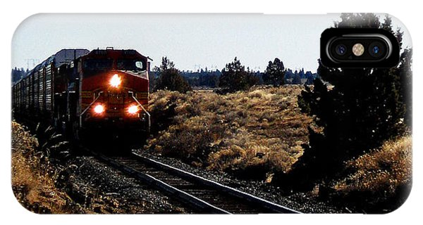 Train Tracks IPhone Case