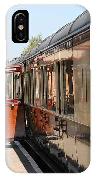 IPhone Case featuring the photograph Train Transport by Susan Leonard