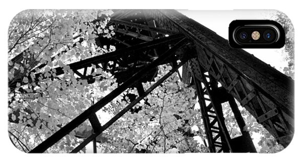Train Trestle In The Woods 2.0 IPhone Case