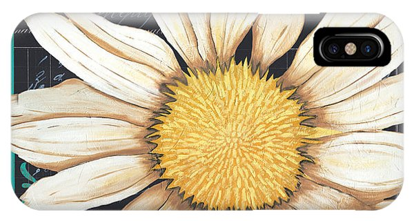 Daisy iPhone Case - Tranquil Daisy 2 by Debbie DeWitt