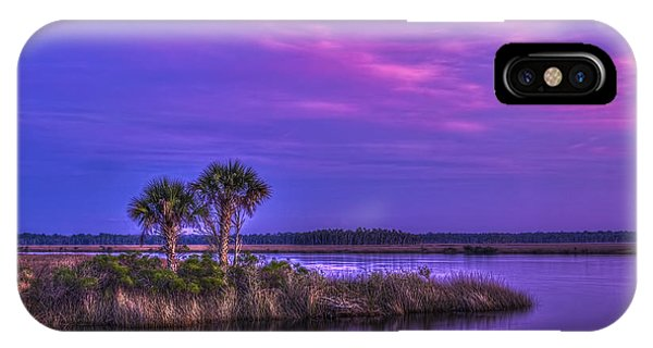Tidal Marsh iPhone Case - Tranquil Palms by Marvin Spates