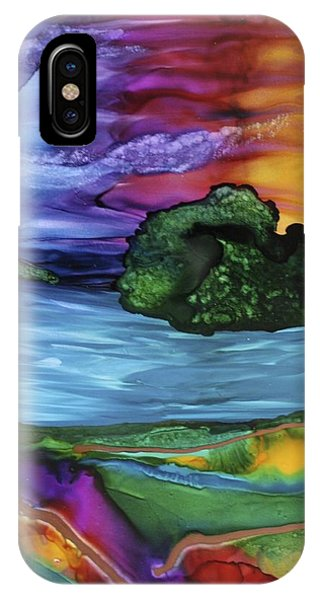 Tranquil Rising IPhone Case