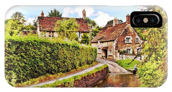 Tranquil Stream Lacock IPhone Case