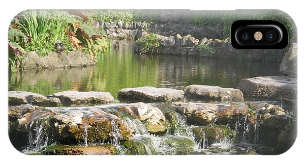 Tranquil Waters - Streaming Calm And Peace IPhone Case