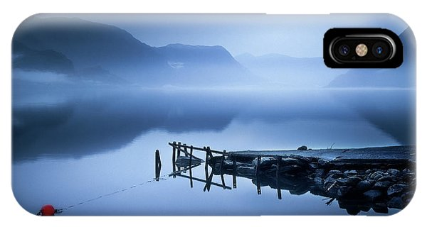 Mist iPhone Case - Tranquility by Gustav Davidsson