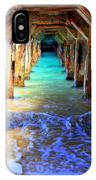 Salt Water iPhone Case - Tranquility by Karen Wiles