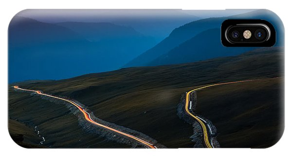 Transalpina IPhone Case