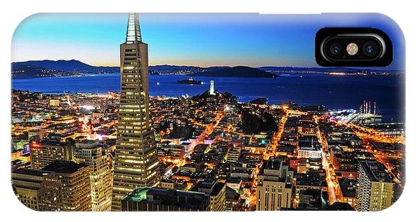 Transamerica Pyramid IPhone Case