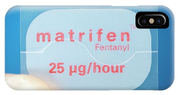 Chronic Pain iPhone Case - Transdermal Painkiller Patch by Dr P. Marazzi/science Photo Library