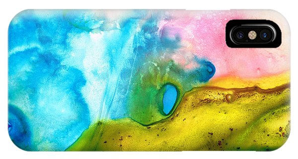 Transformation - Abstract Art By Sharon Cummings IPhone Case