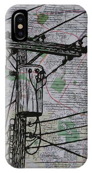 Transformer On Map IPhone Case