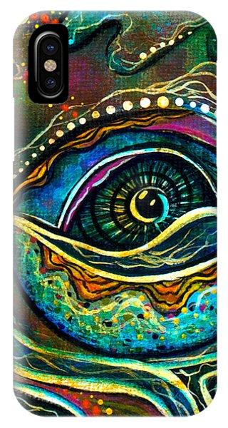 Transitional Spirit Eye IPhone Case