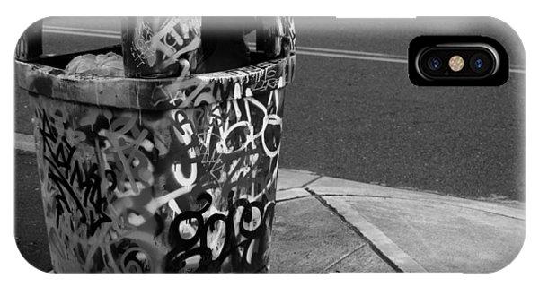Trashcan Art IPhone Case