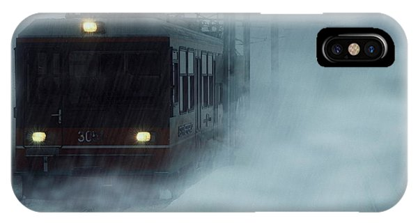 Traveling In The Snow... IPhone Case