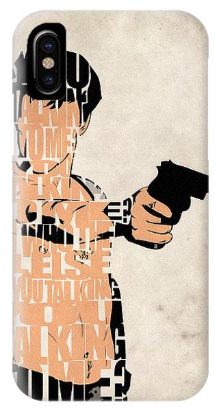 Robert De Niro iPhone Case - Travis Bickle - Robert De Niro by Inspirowl Design