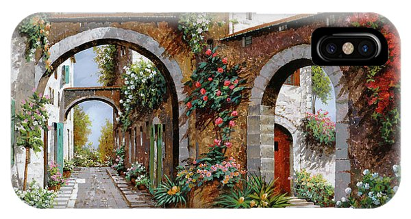 Arched iPhone Case - Tre Archi by Guido Borelli