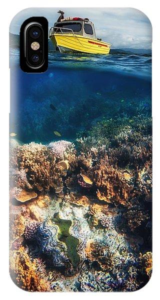 Boat iPhone Case - Treasure Hunters by Pavol Stranak