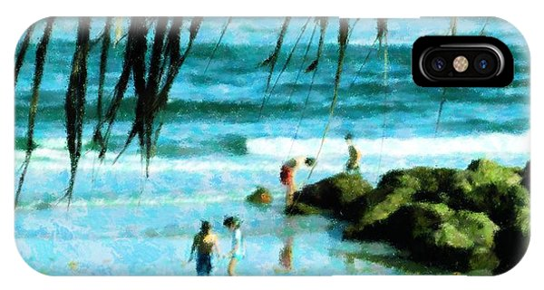 Treasures At The Jetty IPhone Case