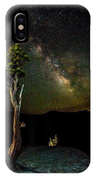 Tree Amongst The Stars IPhone Case
