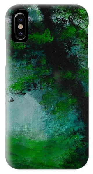 Tree And Mist IPhone Case