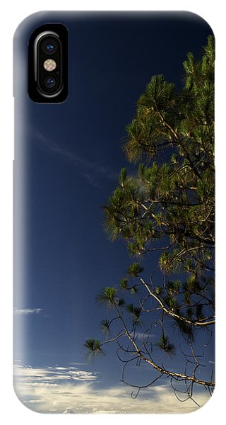Tree And Mountain IPhone Case