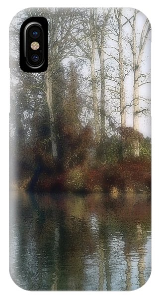 Tree And Reflection IPhone Case