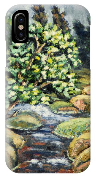 Tree And Stream IPhone Case