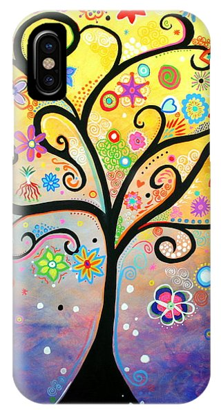 Tree Art Fantasy Abstract IPhone Case