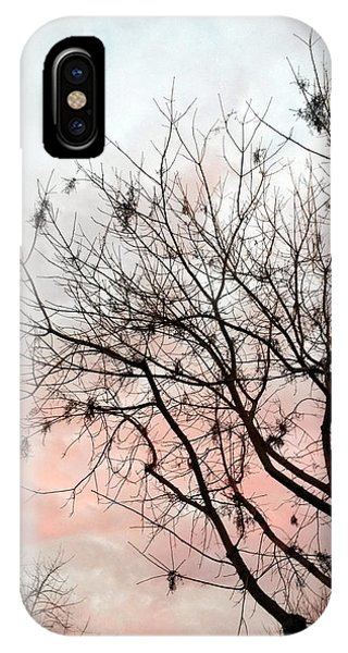 Tree At Sunset IPhone Case